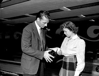Bowling with Don Hutson
