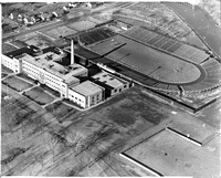 Aerial of East High School