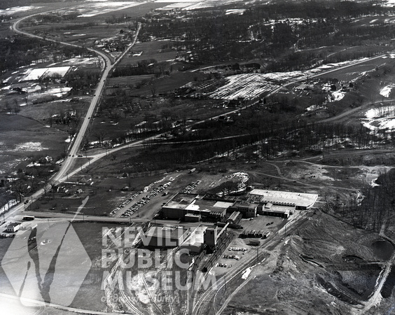 Aerial of Liebmann Packing Co.