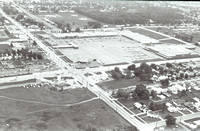 Aerial of Green Bay Plaza