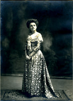 Edith Joannes and the Tank Gown