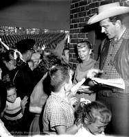 James Arness at City Stadium